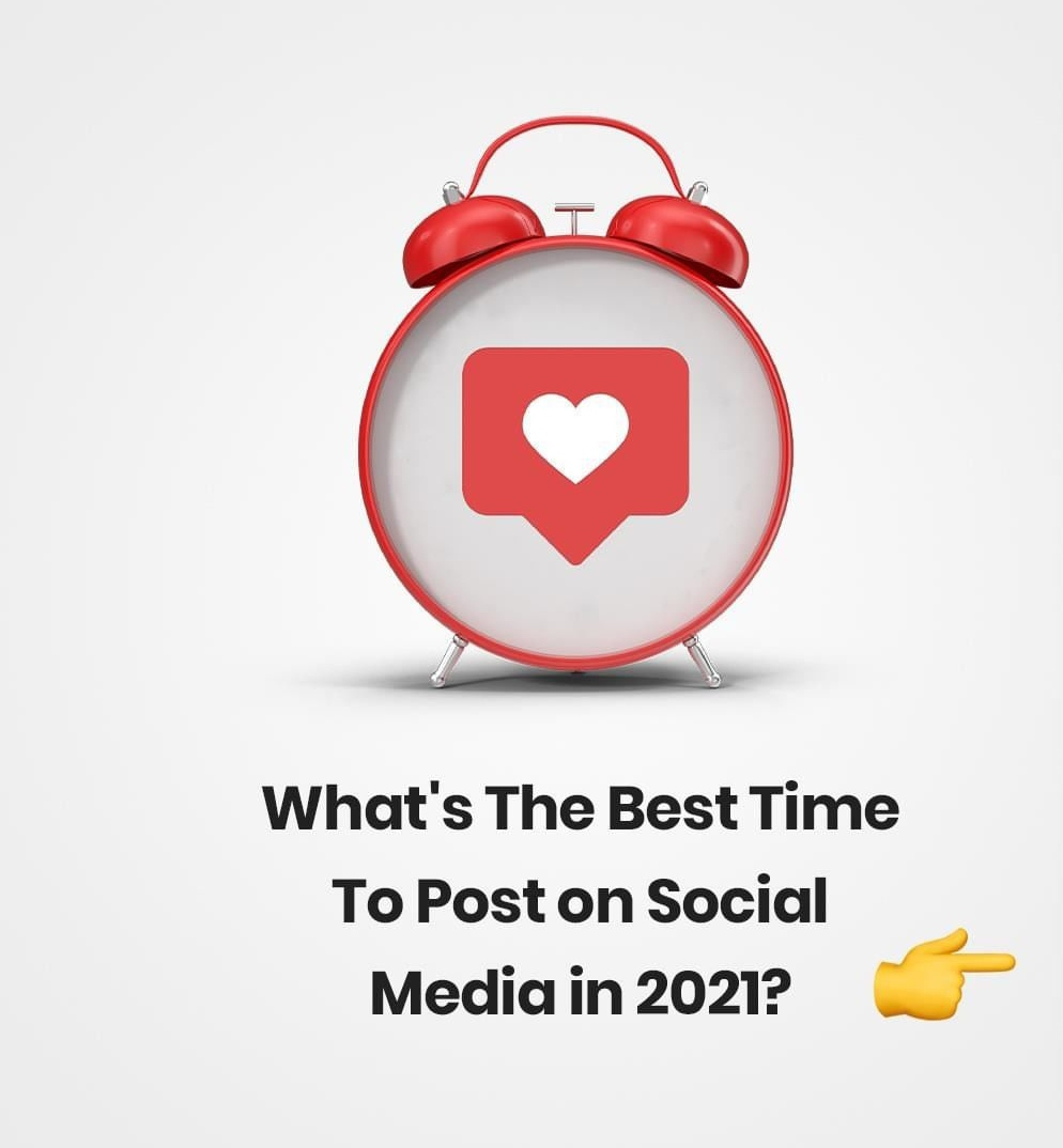 What's the best time to post on social media