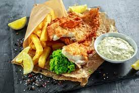 fish and chips fast food fries