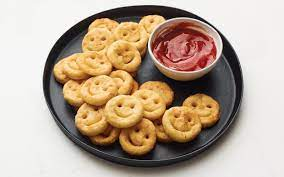 Smiley fries: